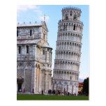 Torre inclinada de Pisa Postales