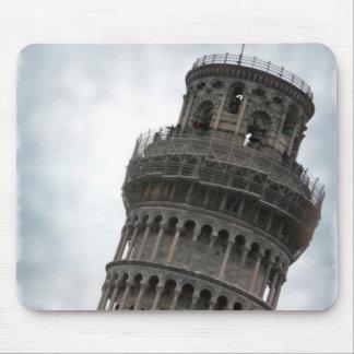 Torre inclinada de Pisa Tapete De Ratón