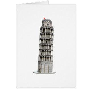 Torre inclinada de Pisa: Tarjeta De Felicitación