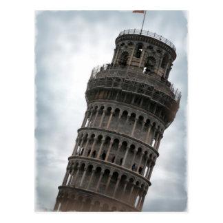 Torre inclinada de Pisa Tarjeta Postal