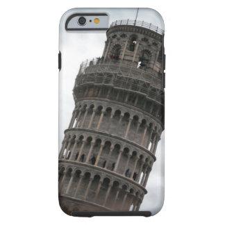 Torre inclinada del caso duro del iPhone 6 de Pisa Funda De iPhone 6 Tough