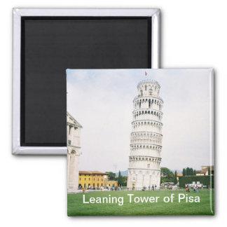 Torre inclinada del imán cuadrado de Pisa