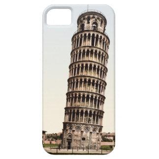 Torre inclinada del vintage de Pisa iPhone 5 Carcasas