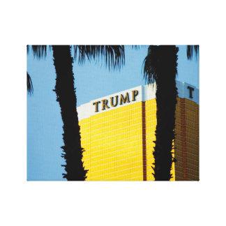 Torre Las Vegas del triunfo del horizonte y lona d Impresiones De Lienzo