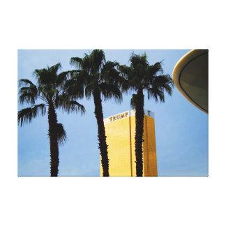 Torre Las Vegas del triunfo del horizonte y lona d Impresion De Lienzo