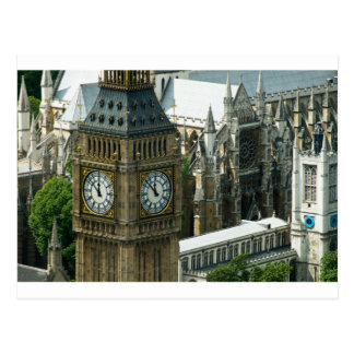 Torre Londres de Big Ben Tarjeta Postal