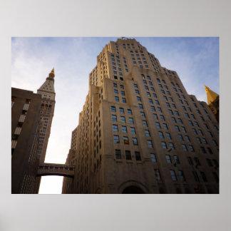Torre metropolitana y edificio del norte, todos lo impresiones