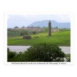 Torre monástica y ruinas, isla de Devenish Tarjetas Postales