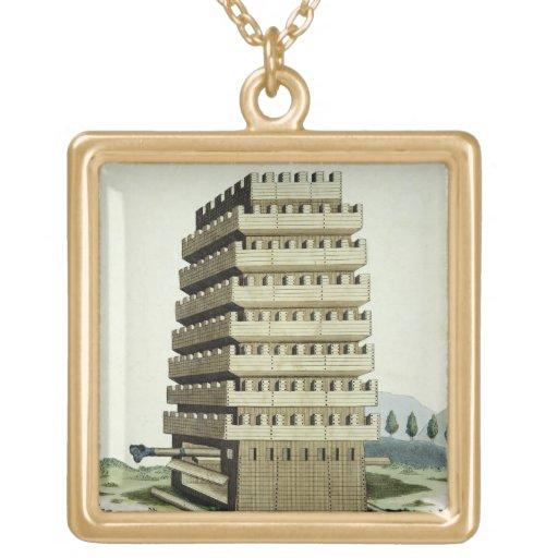 Torre movible con galerías externas y un additio joyería