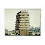 Torre movible con galerías externas y un additio postal