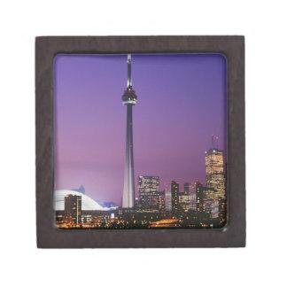 Torre nacional de Canadá Toronto Canadá Cajas De Joyas De Calidad