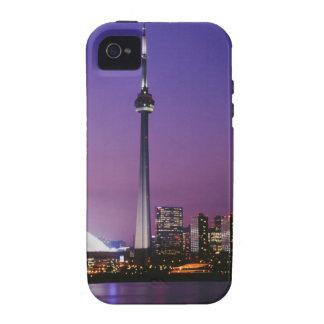 Torre nacional de Canadá Toronto Canadá Case-Mate iPhone 4 Carcasas