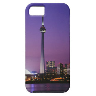 Torre nacional de Canadá Toronto Canadá iPhone 5 Case-Mate Coberturas