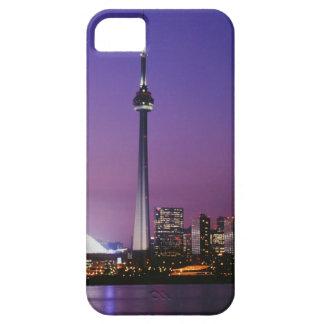 Torre nacional de Canadá Toronto Canadá iPhone 5 Case-Mate Carcasas