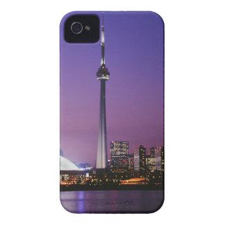 Torre nacional de Canadá Toronto Canadá iPhone 4 Case-Mate Funda