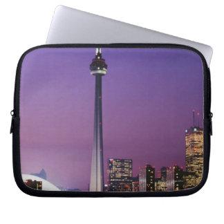 Torre nacional de Canadá Toronto Canadá Fundas Portátiles