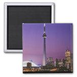 Torre nacional de Canadá, Toronto, Canadá Imanes Para Frigoríficos