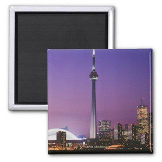 Torre nacional de Canadá, Toronto, Canadá Imán Cuadrado