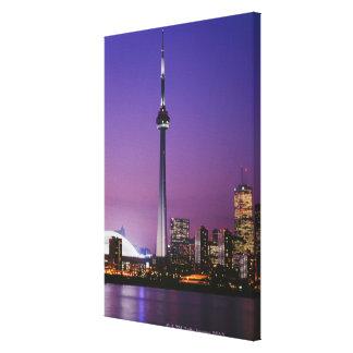 Torre nacional de Canadá Toronto Canadá Lona Estirada Galerías