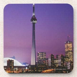 Torre nacional de Canadá Toronto Canadá Posavasos