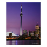 Torre nacional de Canadá, Toronto, Canadá Póster