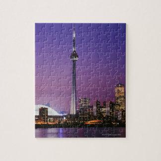 Torre nacional de Canadá Toronto Canadá Puzzle Con Fotos