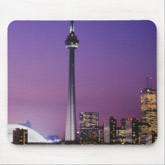 Torre nacional de Canadá Toronto Canadá Alfombrilla De Ratón