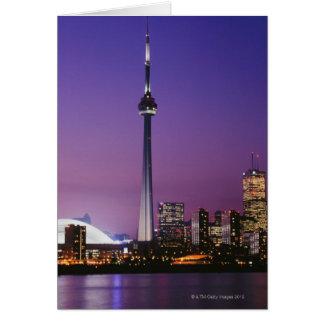 Torre nacional de Canadá Toronto Canadá Tarjeta