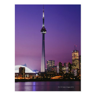 Torre nacional de Canadá, Toronto, Canadá Tarjeta Postal