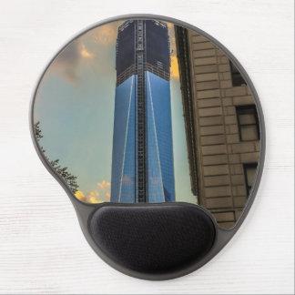 Torre NYC de la libertad del World Trade Center Alfombrilla De Ratón Con Gel