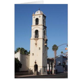 Torre Ojai de la oficina de correos Tarjeta De Felicitación