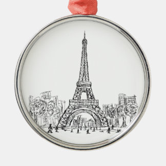 Torre París de Eifel Ornamentos De Reyes Magos