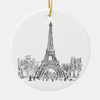 Torre París de Eifel Ornamentos De Reyes
