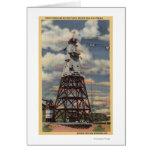 Torre principal, planta de mezcla, presa de Shasta Felicitación
