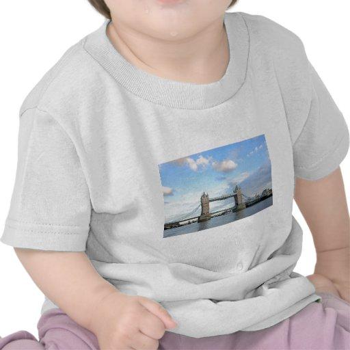 Torre Puente-Londres Camisetas