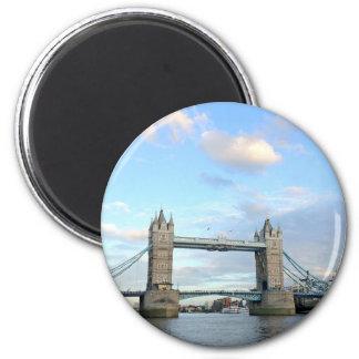 Torre Puente-Londres Imán Para Frigorifico