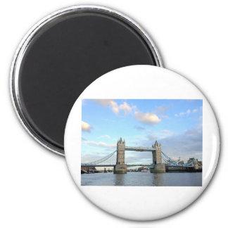 Torre Puente-Londres Iman Para Frigorífico