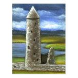 Torre redonda de Clonmacnoise Postal
