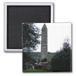 Torre redonda, Glendalough, Co.Wicklow, Irlanda Imán De Frigorífico
