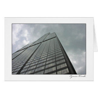 Torre Sears Tarjeta De Felicitación