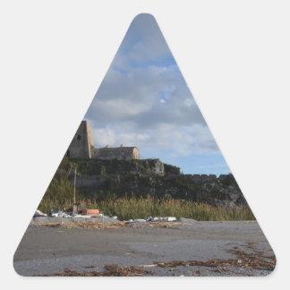 Torre Talao Defending Scalea Triangle Sticker