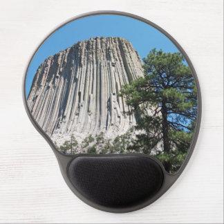 Torre Wyoming de los diablos Alfombrilla De Raton Con Gel
