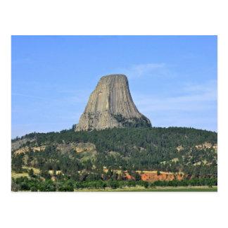 Torre Wyoming de los diablos Postal