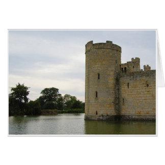 Torre y fosa tarjeta de felicitación