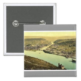 Torre y Rossel Bingen el Rin Alemania del ratón Pins