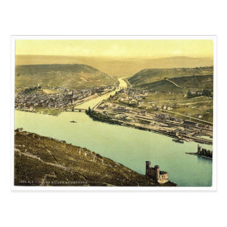 Torre y Rossel Bingen el Rin Alemania del ratón Postales