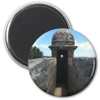Torrecilla de Castillo de San Marcos St Augustine Iman Para Frigorífico