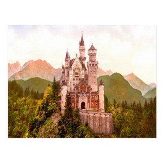 torrecilla de hadas del castillo del castillo del  postal