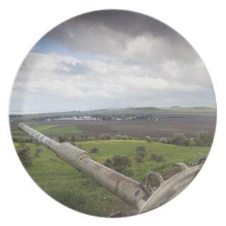 Torrecilla de los puntos israelíes del tanque a Qu Platos