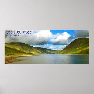 torrecilla Escocia del lago Poster